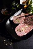 Carne japonesa A5 de Wagyu Imagem de Stock