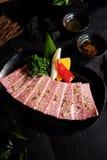 Carne japonesa A5 de Wagyu Fotos de Stock Royalty Free