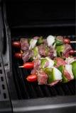 Carne Kebabs imagem de stock royalty free