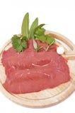 carne lutar rossa för magrameatred Royaltyfri Bild