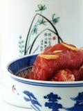 Carne marinata Fotografie Stock