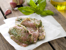 Carne marinata fotografia stock libera da diritti