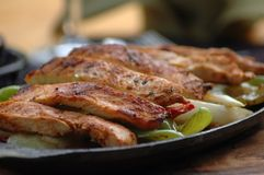 Carne messicana Fotografia Stock