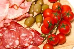 Carne para o almoço Imagens de Stock Royalty Free