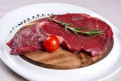 Carne para o bife Foto de Stock Royalty Free