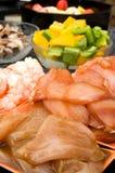 Carne per il bbq o il gourmet all'aperto fotografia stock