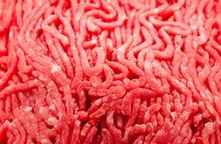 Carne picada Imagem de Stock Royalty Free