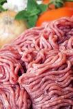 Carne picada Fotos de archivo