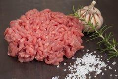 Carne picada Fotos de archivo libres de regalías