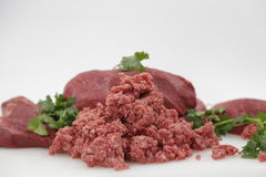 Carne picada Fotografia de Stock