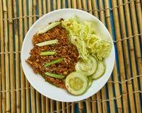 Carne picada coreana Imagens de Stock Royalty Free