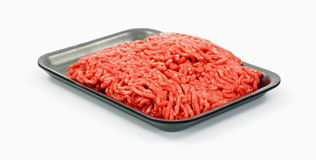 Carne picada magra del 90% Imagen de archivo libre de regalías