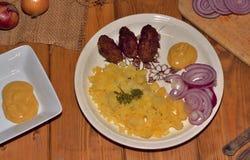 Carne picadita del cerdo Foto de archivo libre de regalías
