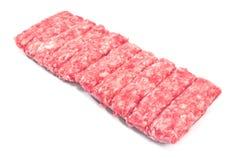 Carne picadita del kebab crudo Imagen de archivo libre de regalías