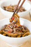 Carne picante chinesa e preto Bean Sauce Fotografia de Stock Royalty Free