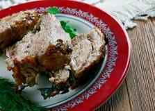 Carne Porco Assado 免版税图库摄影