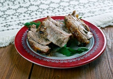 Carne Porco Assado Royaltyfri Bild