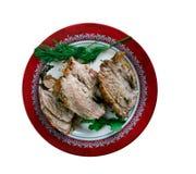 Carne Porco Assado Fotografie Stock Libere da Diritti