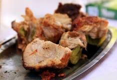 Carne preparada pelos gregos Fotografia de Stock Royalty Free