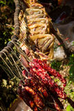 Carne preservada Fotografia de Stock