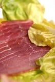 Carne rebanada Fotografía de archivo libre de regalías