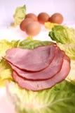 Carne rebanada Imagenes de archivo