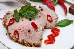 Carne Roasted Fotos de Stock Royalty Free