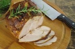Carne rossa del manzo dell'arrosto Fotografie Stock Libere da Diritti