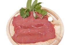 Carne rossa magra-lehnen rotes Fleisch Lizenzfreie Stockbilder
