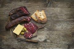 Carne seca Imagen de archivo libre de regalías