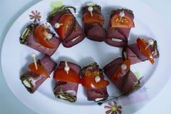 Carne seca Fotografía de archivo libre de regalías