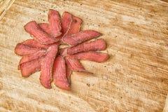 Carne seca orgánica Imagenes de archivo