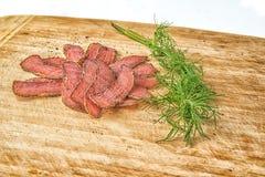 Carne seca orgánica Fotografía de archivo libre de regalías