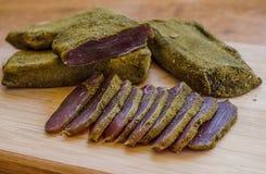 Carne secada Fotografia de Stock Royalty Free