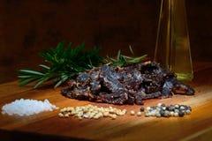 Carne secca Immagine Stock