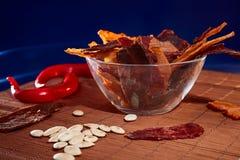 Carne secca Fotografia Stock Libera da Diritti