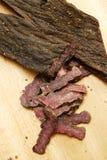 Carne secca tagliata Immagine Stock Libera da Diritti