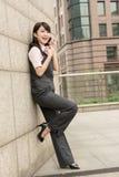 Mulher de negócio segura Imagens de Stock Royalty Free