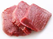Carne sin procesar Imágenes de archivo libres de regalías