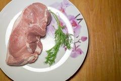 Carne sin procesar Foto de archivo libre de regalías