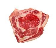 Carne sin procesar aislada. Fotografía de archivo libre de regalías
