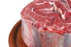 Carne sin procesar cruda Imágenes de archivo libres de regalías