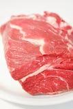Carne sin procesar de la carne de vaca Imagenes de archivo