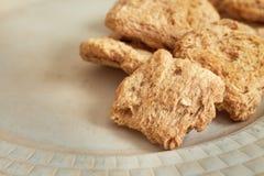 Carne sin procesar de la soja Foto de archivo libre de regalías