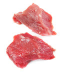 Carne sin procesar de la ternera Fotos de archivo libres de regalías