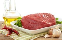 Carne sin procesar fresca Fotos de archivo