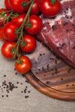 Carne sin procesar fresca Fotos de archivo libres de regalías