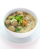 Carne Stew Noodle Soup fotografia de stock