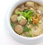 Carne Stew Noodle Soup imagens de stock