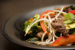 Carne Stirfry Imagens de Stock Royalty Free